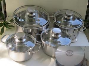 Bộ Nồi Từ Canzy (4 chiếc).  Được sử dụng cho các loại bếp.